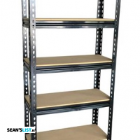 5 Tier Metal Garage Workshop Storage Unit